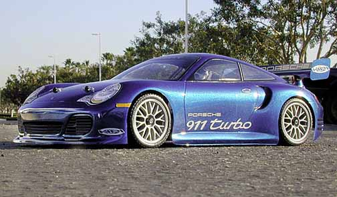 Porsche 911 Turbo Redcat Racing EPX RTR Custom Painted Electric RC Street Cars Now With 2.4Ghz Radio!!!