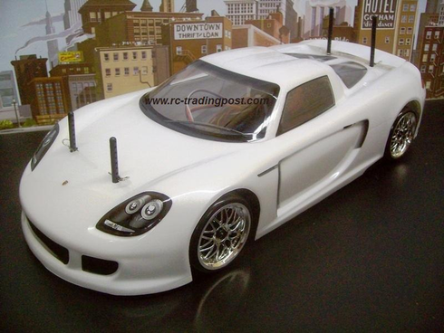 Porsche Carrera GT Custom Painted RC Touring Car / RC Drift Car Body 200mm (Painted Body Only)