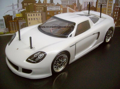 Porsche Carrera GT Redcat Racing Gas RTR Custom Painted Nitro RC Cars Now With 2.4 GHZ Radio System!!!
