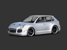 Porsche Cayenne Turbo Custom Painted RC Touring Car / RC Drift Car Body 200mm (Painted Body Only)