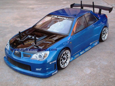 Prova Impreza Redcat Racing EP Brushless RTR Custom Painted Electric RC Street Cars Now With 2.4 GHZ Radio AND 2S Lipo Battery!!!