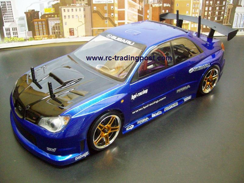Prova Impreza Redcat Racing EPX RTR Custom Painted Electric RC Drift Cars Now With 2.4Ghz Radio!!!