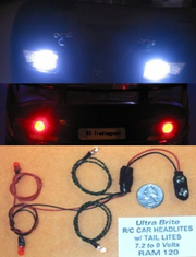 R/C Car Headlights & Tail Lites by Radio Controlled Models Inc.