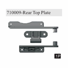 Rear brace set (aluminum)