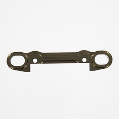 Rear lower suspension arm holder - rear half (aluminum)