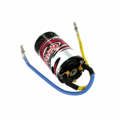 Rear Motor RC390, 3.2mm Shaft (Blue wiring is to negative, Yellow wiring is to positive) ~