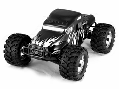 Earthquake 3.5 1/8 Scale Nitro RC Monster Truck 4x4 Ready To Run With 2.4Ghz Radio System