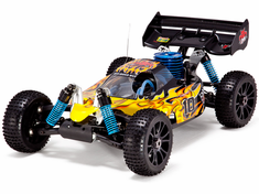 Hurricane XTR 1/8 Scale Nitro RC Buggy 4x4 Ready To Run With 2.4Ghz Radio System