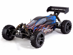 RAMPAGE XB-E 1/5 Scale Brushless Electric RC Buggy 4x4 Ready To Run With 2.4Ghz Radio System And Two 11.1v 3s Lipo Batteries