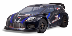 RAMPAGE XR RALLY GAS 1/5 Scale Gasoline RC Rally Car 4x4 Ready To Run With 2.4Ghz Radio System and Waterproof Electronics