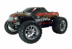 Volcano S30 1/10 Scale Nitro RC Monster Truck 4x4 Ready To Run With 2.4Ghz Radio System