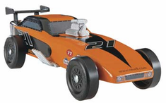 Revell Pinewood Derby Funny Car Trophy Series Racer Kit