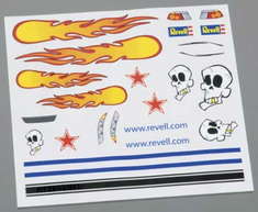 Revell Pinwood Derby Dry Transfer Decal C