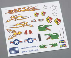Revell Pinwood Derby Dry Transfer Decal E