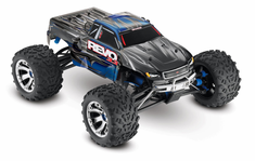 1/10 Revo 3.3 4WD Nitro RC Monster Truck RTR with TSM, Blue,45+mph
