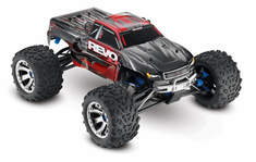 1/10 Revo 3.3 4WD Nitro RC Monster Truck RTR with TSM, Red,45+mph