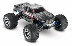 1/10 Revo 3.3 4WD Nitro RC Monster Truck RTR with TSM, Silver,45+mph