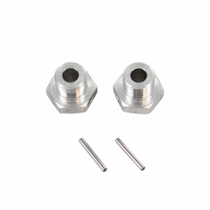 Aluminum Wheel Hex with Pins (2pcs) ~
