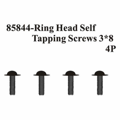 Ring Head Self Tapping Screws 3*8 4Pcs ~