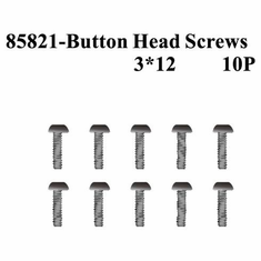 Rounded Head Hex Screws 3*12 10Pcs ~