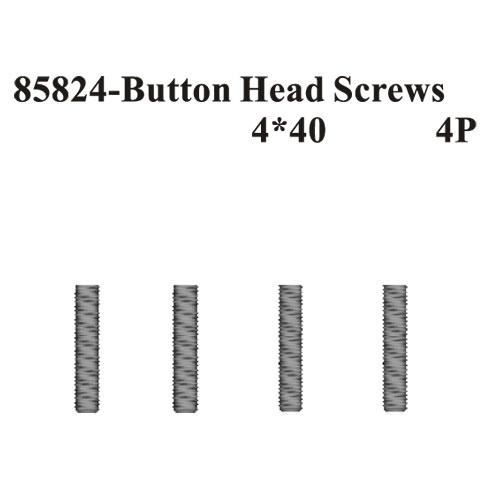 Rounded Head Screws 4*40 4Pcs ~