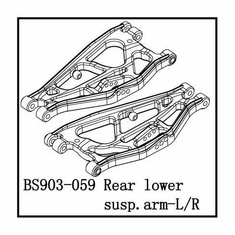 Rear Lower Suspension Arms (L/R)