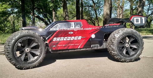 SHREDDER HUGE 1/6 SCALE BRUSHLESS ELECTRIC RC MONSTER TRUCK RTR BRUSHLESS 4X4