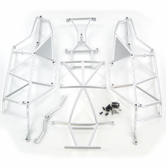 Silver Finish Roll Cage, Complete for Sandstorm ~