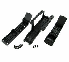 Skid Plate Set with Screws, 3pcs