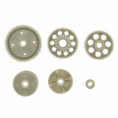 Spur Gear(47T), Driven Gears, Diff. Casing and Gasket ~