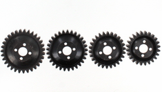 Steel Gear Set for Dunerunner (4 pin setup)(29T/31T/26T/24T) ~