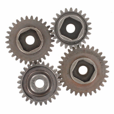 Steel Gear Set for Dunerunner (4 pin setup)(29T/31T/26T/24T)