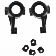 Steering Mount(L/R) 2P for use with 07452 longer axle and 07453 10mm x 22mm x 5mm bearings ~