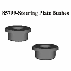 Steering Plate Bushings 2Pcs ~
