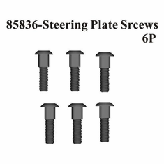 Steering Ackermann Plate Screws 6Pcs ~