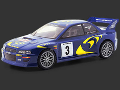 Subaru Impreza WRC 1998 Custom Painted RC Touring Car / RC Drift Car Body 200mm (Painted Body Only)