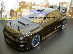 Subaru Impreza WRC 2001 Redcat Racing EP Brushless RTR Custom Painted Electric RC Street Cars Now With 2.4 GHZ Radio AND 2S Lipo Battery!!!