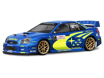 Subaru Impreza WRC 2004 Custom Painted RC Touring Car / RC Drift Car Body 200mm (Painted Body Only)