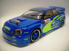 Subaru Impreza WRC 2004 Redcat Racing EP Brushless RTR Custom Painted Electric RC Street Cars Now With 2.4 GHZ Radio AND 2S Lipo Battery!!!