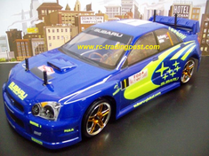 Subaru Impreza WRC 2004 Redcat Racing EPX RTR Custom Painted Electric RC Drift Cars Now With 2.4Ghz Radio!!!