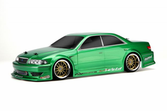 T&E Vertex Ridge JZX100 Toyota Mark II Redcat Racing EP Brushless RTR Custom Painted Electric RC Street Cars Now With 2.4 GHZ Radio AND 2S Lipo Battery!!!