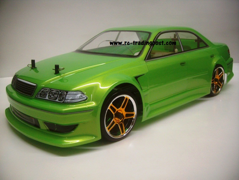 T&E Vertex Ridge JZX100 Toyota Mark II Redcat Racing EPX RTR Custom Painted Electric RC Drift Cars Now With 2.4Ghz Radio!!!