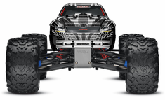 1/10 T-Maxx 3.3 4WD Nitro RC Monster Truck RTR with TSM, Black,45+mph