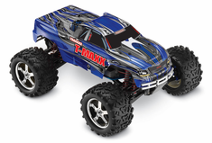 1/10 T-Maxx 3.3 4WD Nitro RC Monster Truck RTR with TSM, Blue,45+mph