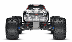 1/10 T-Maxx 3.3 4WD Nitro RC Monster Truck RTR with TSM, White,45+mph