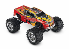 T-Maxx 4WD Nitro Monster Truck, Red