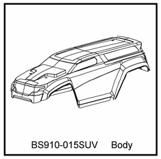 T10 SUV Body Clear