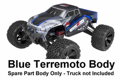 TerreMoto Truck Body, Blue