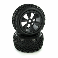 Tires and Wheels, Mounted (2pcs)