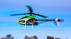 Trio 180 CFX BNF Basic RC Helicopter w/ AS3X� Technology